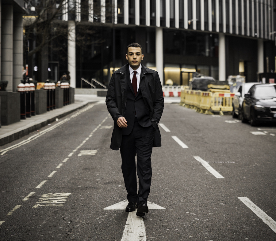 Dress for the job you want with suit and shirt in London